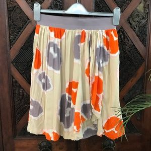 DownEast Boho Floral Skirt Size XS